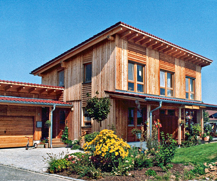 holzbauhaus kologisches holzhaus fertighaus. Black Bedroom Furniture Sets. Home Design Ideas